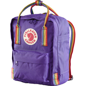 Fjällräven Kånken Rainbow Mini Backpack purple-rainbow pattern